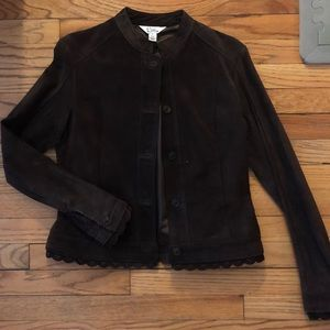 Lily Suede Jacket